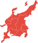 Tokai and Hokuriku Area